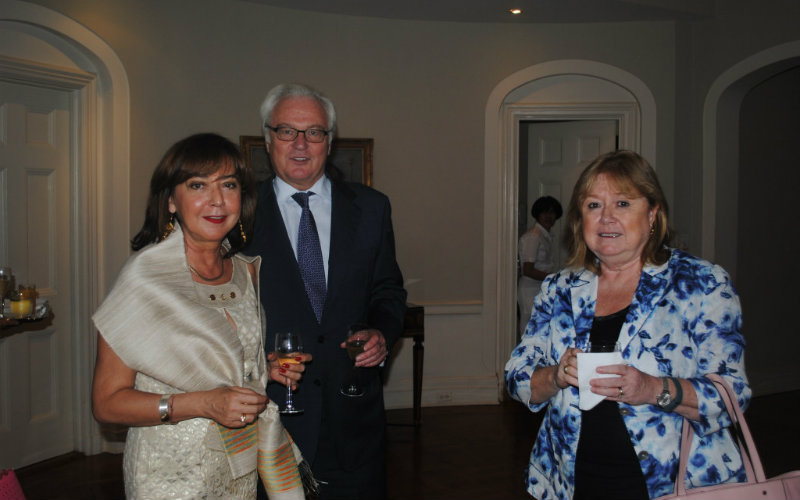 H.E. Mr. Vitaly Churkin, Russia, Ms. Susana Malcorra, Chef de Cabinet Un SG; and H.E. Ms. Mirsada Colakovic, Bosna and Herzegovina